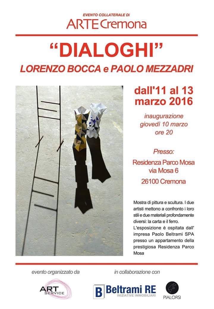 dialoghi: Lorenzo Bocca e Paolo Mezzadri